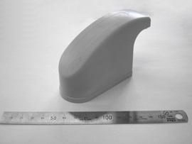 射出成形品【医療器具緩衝材】材質:TPE  インサート成形